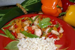 Saladmaster Healthy Solutions: Turkey Apricot Stir-Fry