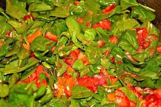 Saladmaster PCRM Recipe Spinach Salad with Citrus Fruit