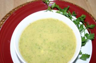 Saladmaster Recipe: Cream of Yogurt-Broccoli Soup with Mint