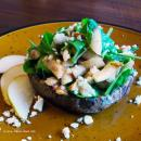 Saladmaster Recipe Stuffed Portabella with Arugula & Pear Salad