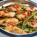 Chicken recipe, balsamic chicken, one skillet recipes