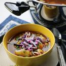 Vegan, pozole, soup, stew, mexican