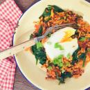 Sweet Potato Eggs, Skillet Breakfast