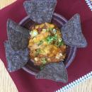 Enchilada, Dip, Tortilla chips, ground beef