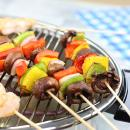Saladmaster Smokeless Broiler Grilled Kabobs