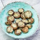 stuffed mushrooms, portabello mushrooms, appetizer recipe