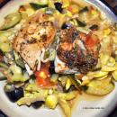 Saladmaster Recipe Pan Roasted Chicken Thighs with Garden Vegetables by Cathy Vogt