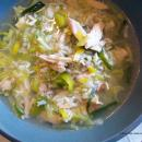 Saladmaster Recipe Cock-a-Leekie Soup Cathy Vogt