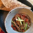 Delicious shredded beef recipe for tacos