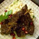 Saladmaster Recipe Braised Lamb with Pomegranate Sauce