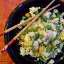 "Saladmaster Recipe Cauliflower & Shrimp Fried ""Rice"" by Cathy Vogt"