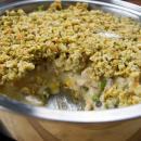 Turkey Pot Pie, Thanksgiving, Stuffing