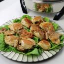 saladmaster chicken, fried chicken, unfried, saladmaster electric skillet