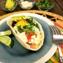 Huevos Rancheros, eggs, breakfast, eoc, skillet, beans