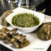 Saladmaster Recipe Artichokes with Mint Pesto