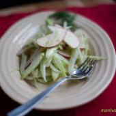 Saladmaster Healthy Solutions 316Ti Cookware: Apple Fennel Salad with Lemon Zest