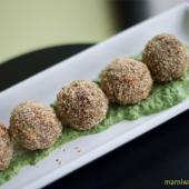 Saladmaster Recipe Spinach Almond Patties by Marni Wasserman