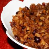 Saladmaster Recipe Chunky Cinnamon Apple-Cranberry Sauce