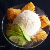 Saladmaster Recipe Stir Fried Pineapple with Honey Lime Sauce by Cathy Vogt