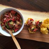 Saladmaster Recipe Strawberry, Cucumber & Avocado Salsa