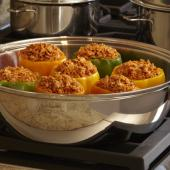Saladmaster Recipe Company's Comin' Stuffed Peppers