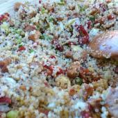 Saladamster Recipe Quinoa with Artichokes and Pesto