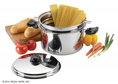 Boiling Pasta With Your Saladmaster Culinary Baskets