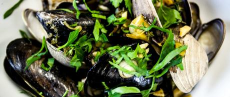Saladmaster Recipe Beer-Steamed Clams & Mussels