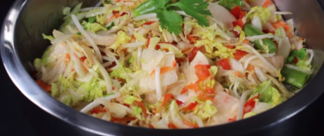 Saladmaster Healthy Solutions 316 Ti Cookware: Asian Slaw