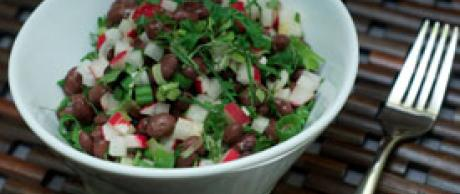 Saladmaster Healthy Solutions 316 Ti Cookware: Black Bean Salad with Fresh Mint by Marni Wasserman