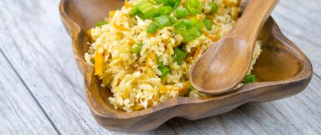 Cauliflower Rice, Vegetarian Fried Rice, Fried Rice,