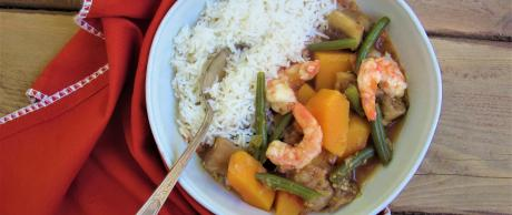 Filipino Style Shrimp Vegetable Stew Saladmaster Recipes