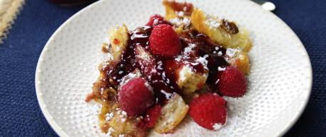 French Toast, berries, breakfast, dessert,