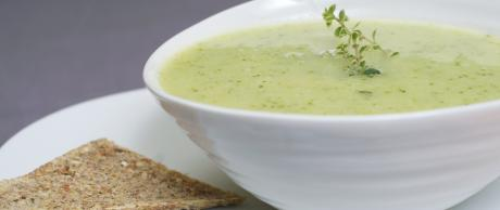 Creamy Broccoli Soup by Mani Wasserman