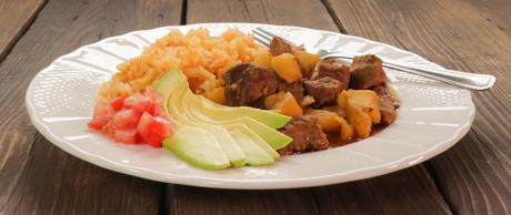 Beef Stew, Mexican recipe, easy, beef and potatoes
