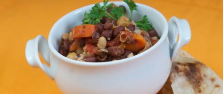 Saladmaster Healthy Solutions 316 Ti Cookware: Hearty Vegetarian Chili