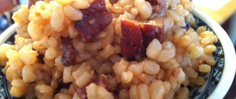 Brown Rice with Toasted Pecans