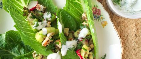 Lentil & Chicken Salad, Chicken Salad