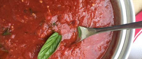 marinara sauce, tomato sauce, spaghetti sauce, lasagna sauce