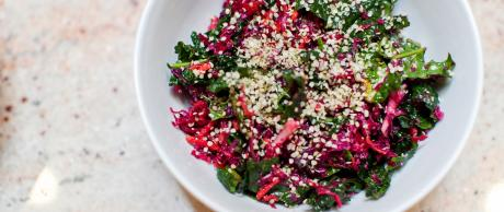 Saladmaster Healthy Solutions 316Ti Cookware: Kale Slaw Marinade by Marni Wasserman