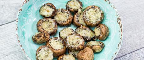 stuffed mushrooms, portabello mushrooms, appetizer recipe
