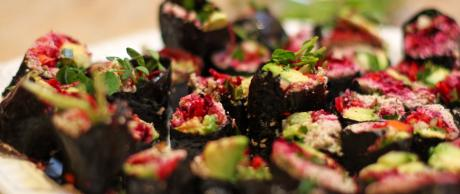 Saladmaster Recipe Vegetarian Nori Rolls by Marni Wasserman