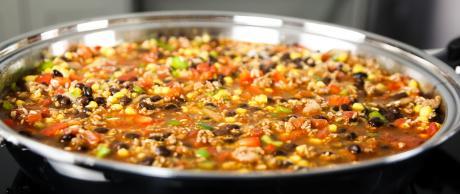 rice casserole, mexican, tex-mex, rice