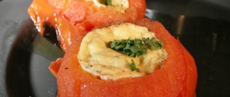 Saladmaster Healthy Solutions 316 Ti Cookware: Roasted Beefsteak Tomatoes with Corn Soufflé