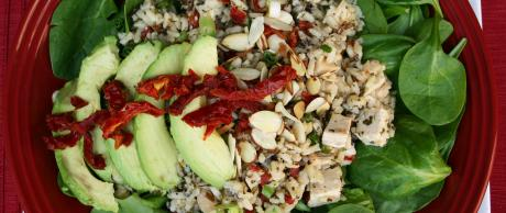 Saladmaster Recipe Chicken, Rice and Sundried Tomato Salad