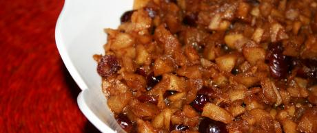Saladmaster Recipe Chunky Cinnamon Apple-Cranberry Sauce