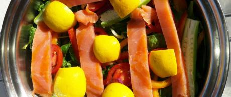 Saladmaster Recipe Salmon & Vegetables