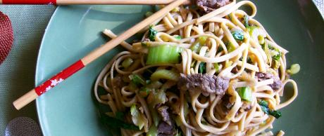 Saladmaster Recipe Beef & Bok Choy Lo Mein by Cathy Vogt
