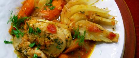 Saladmaster Recipe Chicken and Fennel Stew by Cathy Vogt