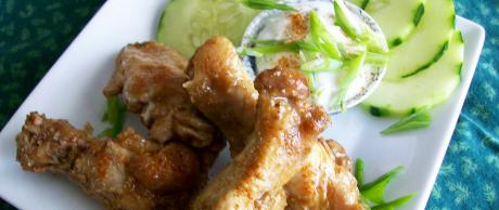 Saladmaster Recipe Chipotle Chicken Wings with Lime Sauce